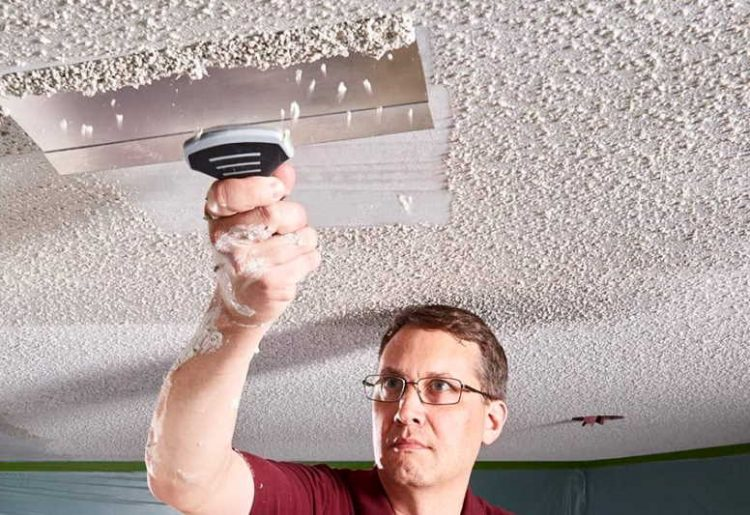 How do you fix a textured ceiling hole? Here is the Option