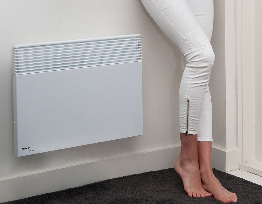 heating rooms of small dimensions